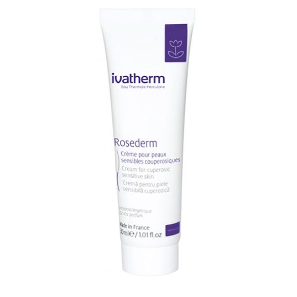 Ivatherm ROSEDERM Crema pentru piele sensibila si cuperozica 30 ml
