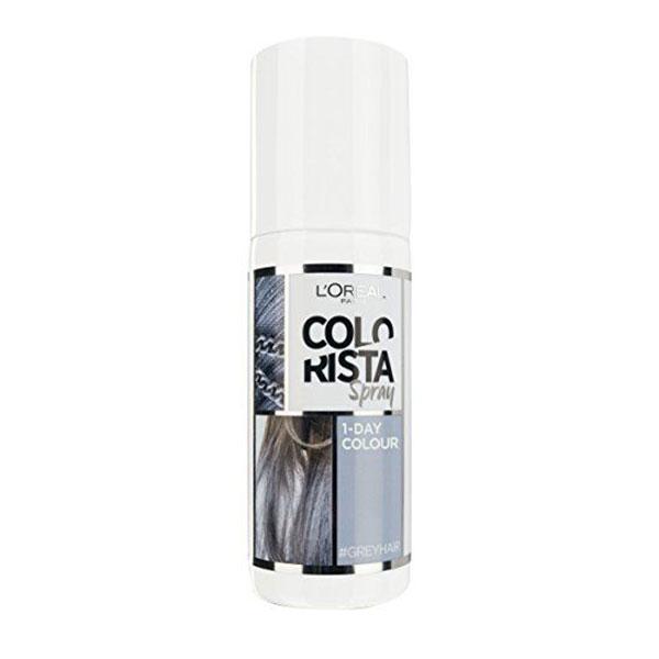 L'Oréal Paris Colorista Grey Spray colorant de 1 zi pentru par 75 ml