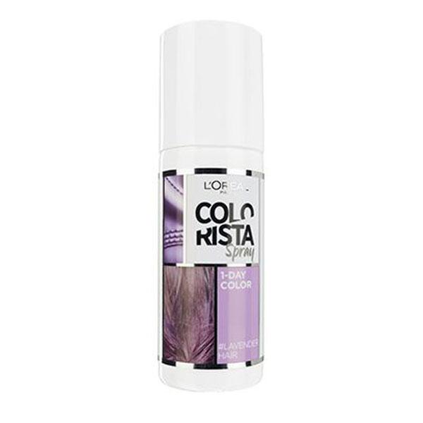 L'Oréal Paris Colorista Lavander Spray colorant de 1 zi pentru par 75 ml