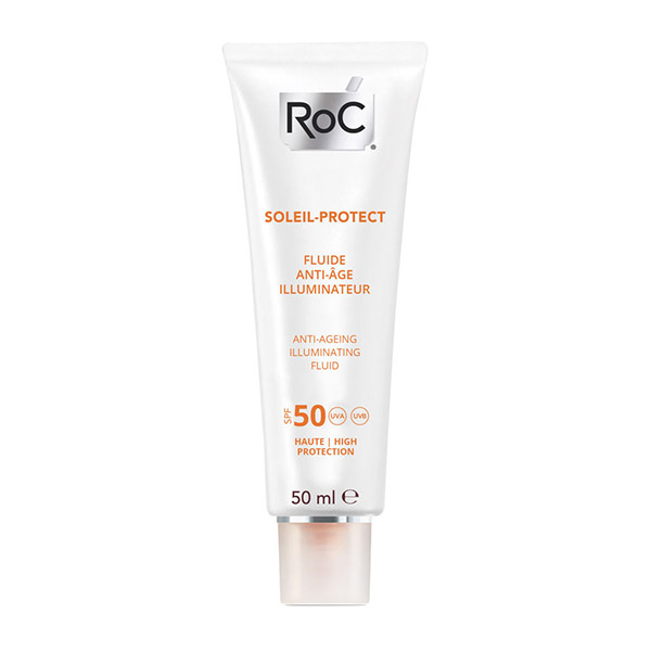 Roc Soleil Protect Fluid anti-age illuminator SPF50 50ml