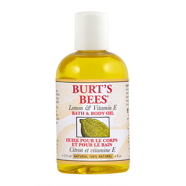 BURT'S BEES Ulei de corp cu vitamina E si lamaie 115ml