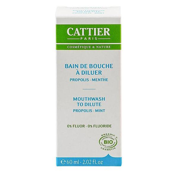 Cattier Apa de gura pentru diluare 60 ml