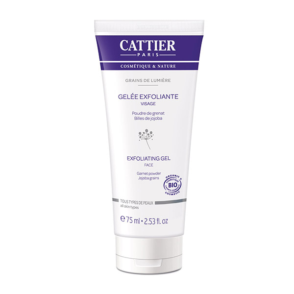 Cattier Grains de Lumiere Gel de curatare exfoliant 100 ml