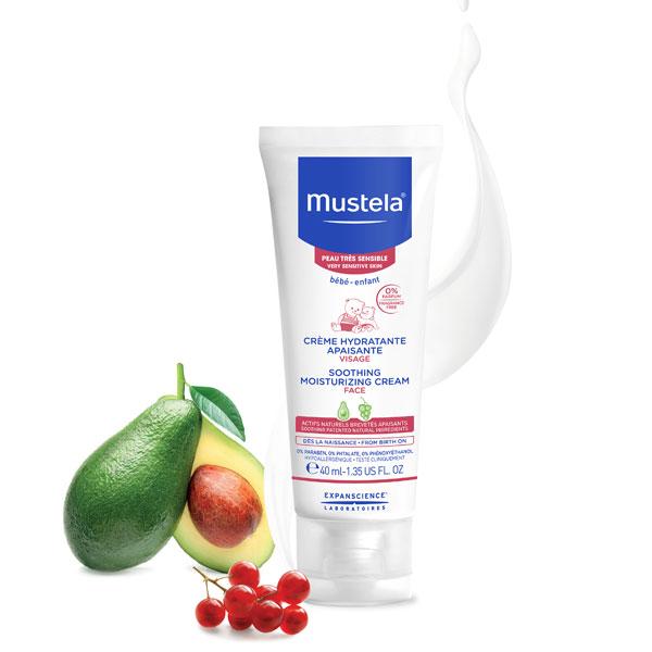 Mustela Cremă hidratantă calmantă 40ml