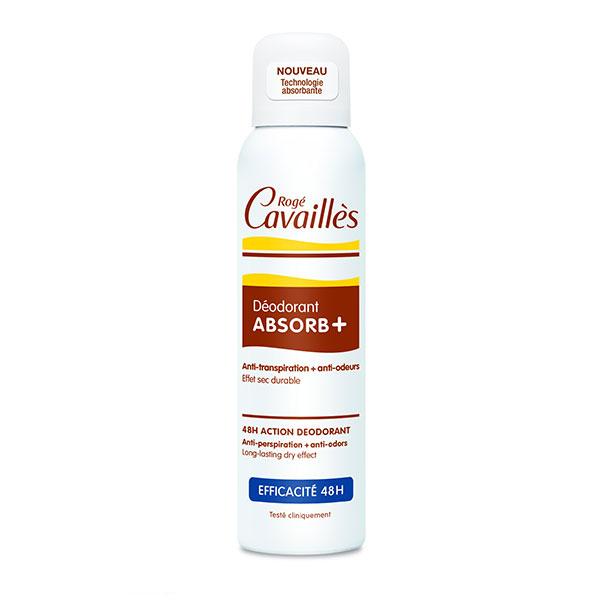 Roge Cavailles ABSORB+ Deodorant spray reglator 150ml