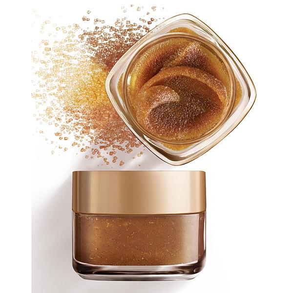 L'Oreal Paris Smooth Sugars Scrub exfoliant cu zahar pentru ten tern 50ml