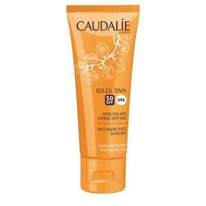 Caudalie Soleil Divin Cremă SPF50 antiage 50ml