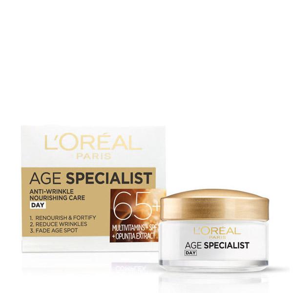 L'Oreal Paris Age Specialist 65+ Crema antirid pentru fata de zi 50ml