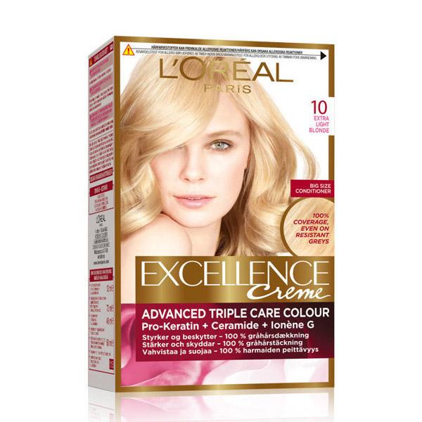 L'Oreal Paris Excellence Creme Vopsea de par 10 Blond Foarte Foarte Deschis