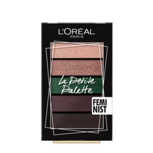 L'Oreal Paris La Petite Palette Feminist Paleta farduri pleoape 4g