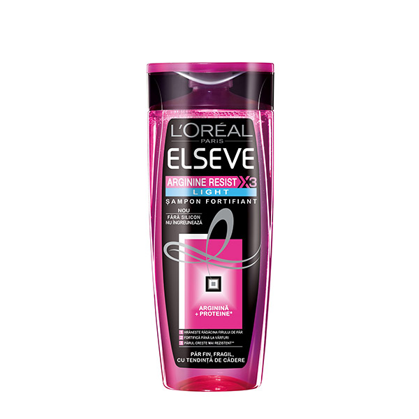 L'Oreal Paris Elseve Arginine Resist X3 Light Șampon 250ml