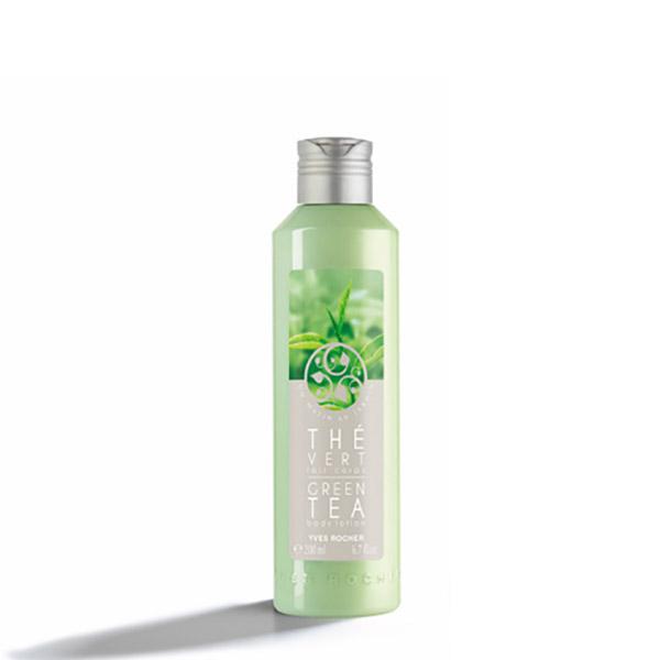 YVES ROCHER Un Matin au jardin Lapte parfumat pentru corp Ceai verde 200ml
