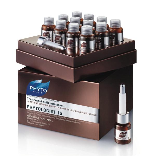 Phyto Phytologist 15 Tratament împotriva căderii părului 12x3.5ml