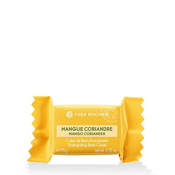 YVES ROCHER Cub efervescent Mango & Coriandru 15g