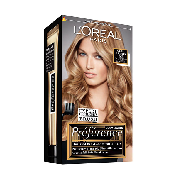 L'Oreal Paris Preference Glam Bronde Vopsea de păr 2 Dark to Light Blond