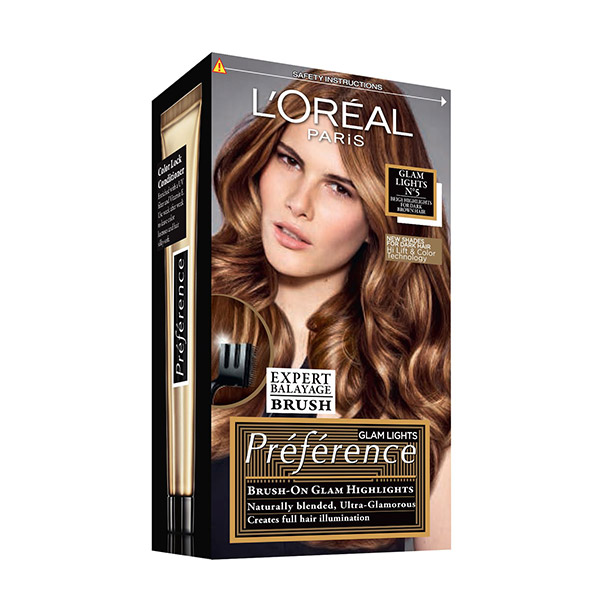 L'Oreal Paris Preference Glam Bronde Vopsea de păr 5 Dark to Light Brown