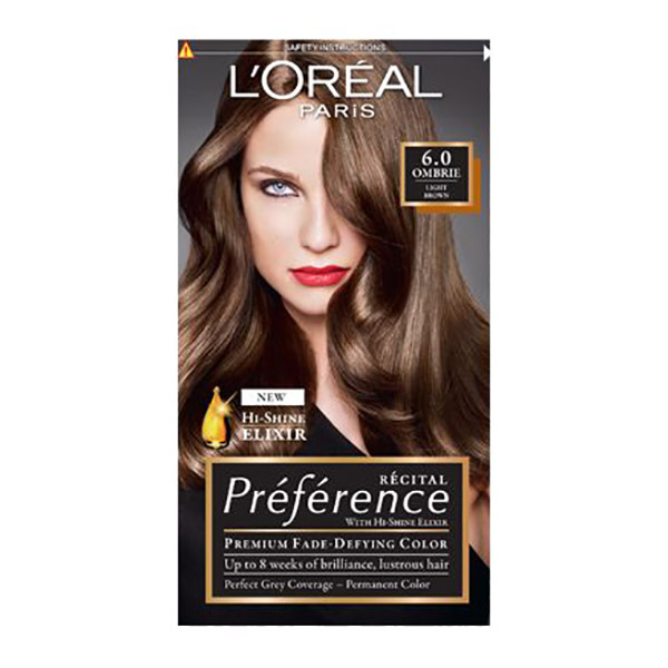 L'Oreal Paris Preference Vopsea de par 6-H-Ombrie Blond inchis