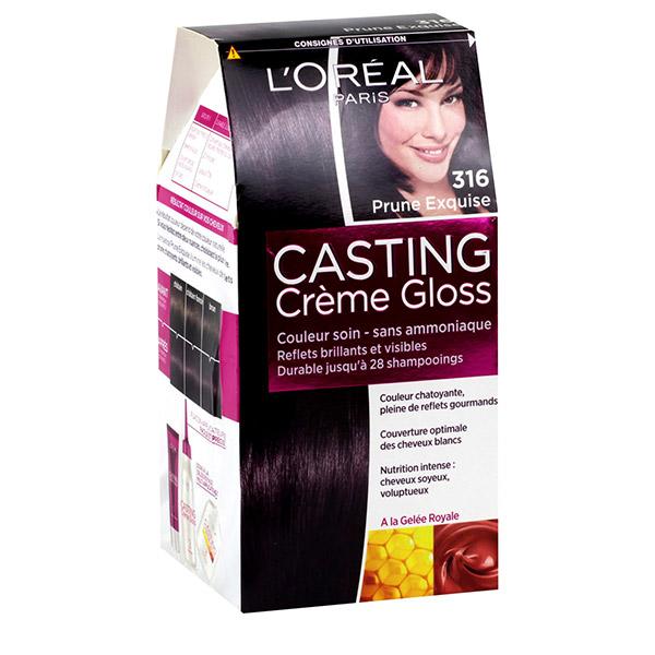 L'Oreal Paris Vopsea de par Casting Crème Gloss 316 Prune
