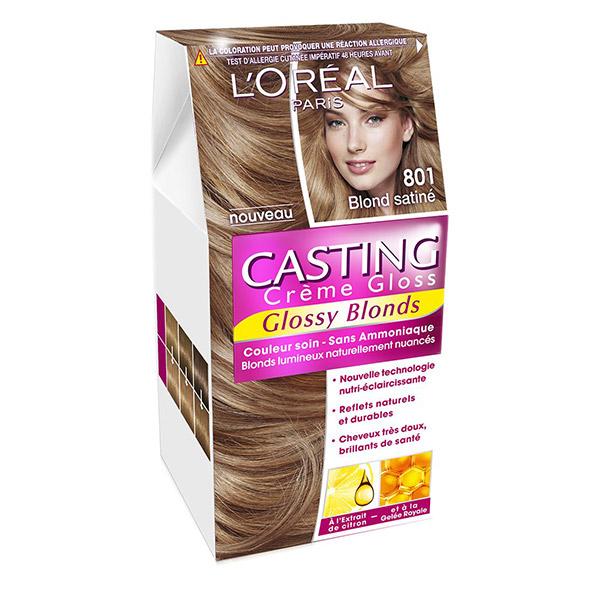 L'Oreal Paris Vopsea de par Casting Crème Gloss 801 Blond Satine