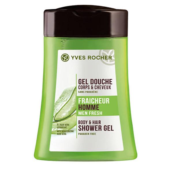 YVES ROCHER Gel șampon pentru păr și corp Aloe Vera 200ml