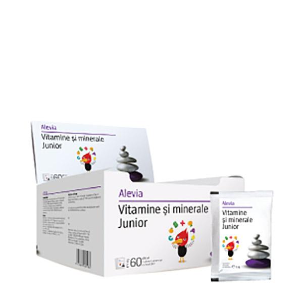Alevia Vitamine si Minerale Junior Plic 3.5g