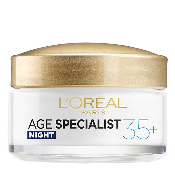 L'Oreal Paris Age Specialist 35 + Crema de noapte 50ml