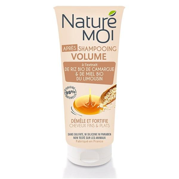 NatureMoi Balsam pentru volum cu extract bio de Orex de Camargue și Miere bio 200 ml