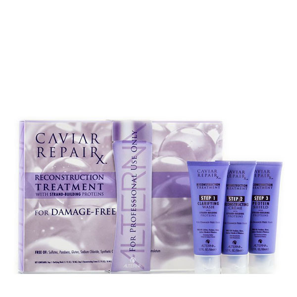 Alterna Caviar RepaiRx Reconstruction Set Tratament Reparator Set 3 x 50 ml